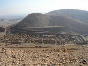 Louqsor rive ouest, village de Deir el-Medineh