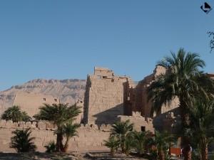 Louqsor rive ouest, temple de Medinet Habou (Nouvel Empire, XIXe dynastie)