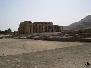 Louqsor rive ouest, Ramesseum (Nouvel Empire, XIXe dynastie)