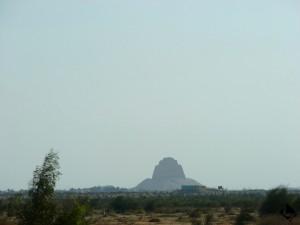 Meïdoum, pyramide d'Houni (Ancien Empire, IIIe dynastie)