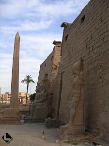 Louqsor rive est, temple de Louqsor (Nouvel Empire)
